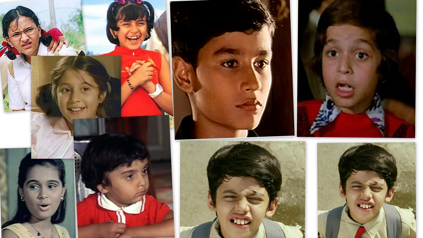 Bollywood,Child Actors