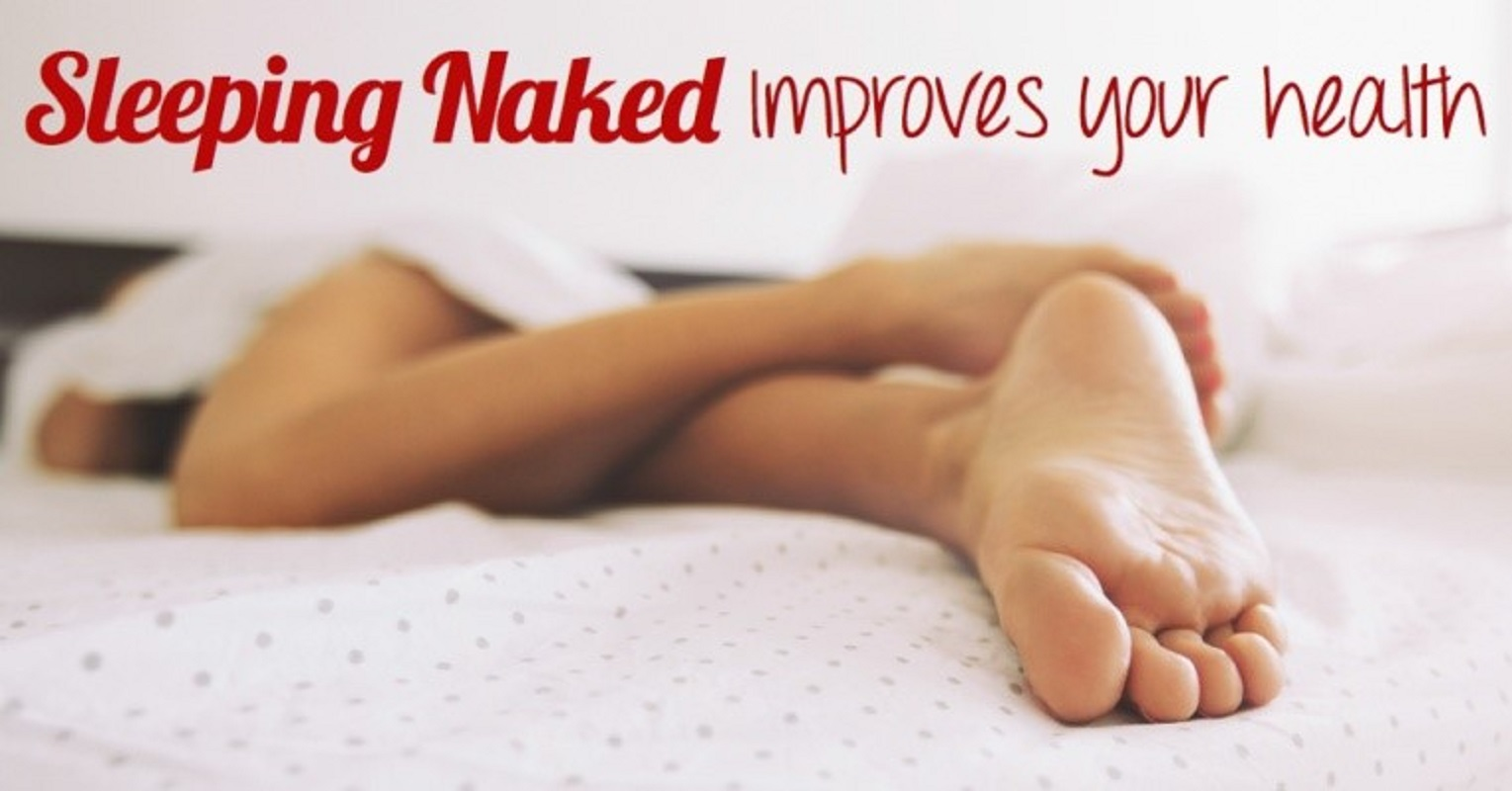 benefit of sleeping naked