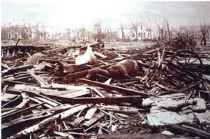 Destructive tornadoes
