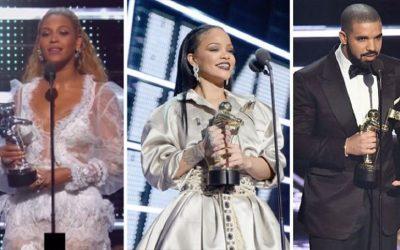 MTV VMAs 2016, Winners
