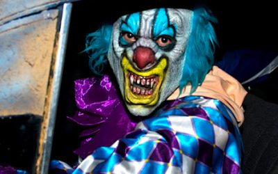 creepy clown in dallas
