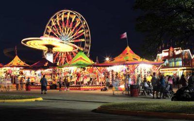 Carnival at night time