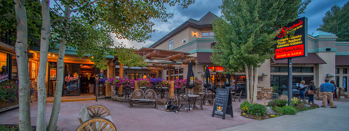 Restaurants On Main Street In Frisco Co
