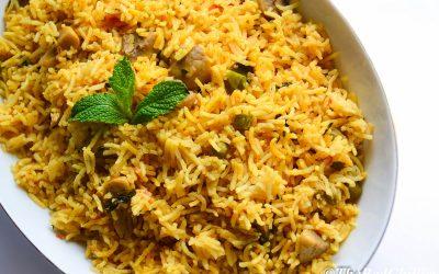 Vegetables,Rice,Recipes,Pulao,Biryani