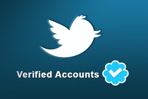 Twitter verified account