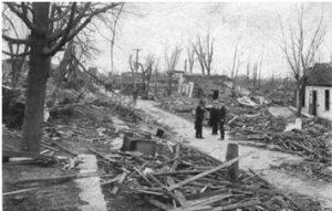 Destructive tornadoes