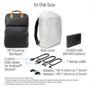 HP's Powerup Backpack