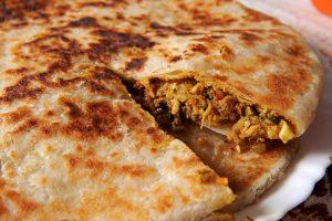 Chicken Paratha,Parathas,Non-Veg