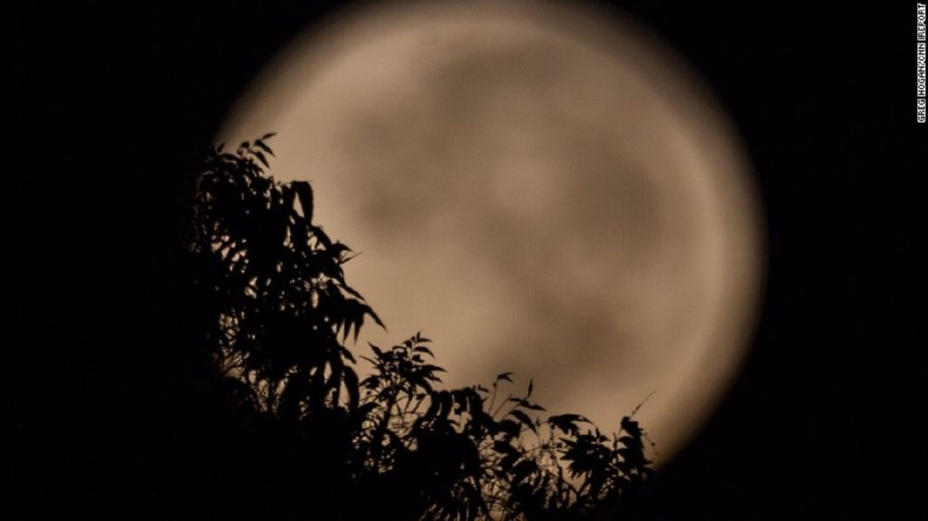 Harvest Moon 2016,September, Full Moon